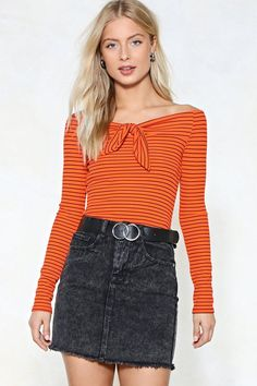 b84fba8950ab So move along. The Knot Your Problem Top comes in ribbed jersey and  features a