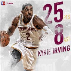 Solid night from in a win over the Nba News, Kyrie Irving, Raptors, Baseball Cards, Sports, Hoop, Basket, Night, Hs Sports
