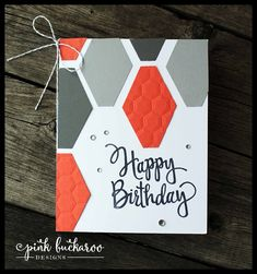 Homemade birthday cards, birthday cards for men, homemade cards, male birthday, punch Bday Cards, Birthday Cards For Men, Male Birthday, Happy Birthday, Birthday Kids, Masculine Birthday Cards, Masculine Cards, Homemade Birthday Cards, Homemade Cards