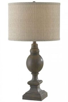 Master lamp option? Only one on the nightstand since we're doing a dresser on the other side.