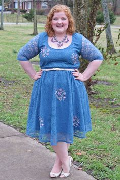 In today's post, a review of the Monroe Lace Dress from SWAK Designs (sizes…