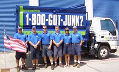 1-800-GOT-JUNK? is your full-service junk removal company. We offer junk removal services for your home or business including offices, retail locations, construction sites, and more. We ensure that your junk gets recycled, donated, or disposed of responsibly. We'll remove junk from wherever it's located, and we won't leave a dent or speck of dirt behind.