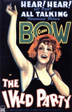 1929 The Wild Party  ART & ARTISTS: Film Posters 1913 - 1929
