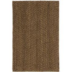 Catch the all-natural wave with this substantial and stylish woven sisal rug, made from an eco-friendly plant fiber. Perfect for adding a rustic touch to high-traffic areas.
