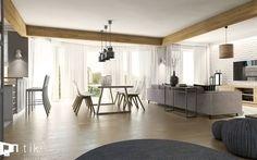 Jadalnia styl Skandynawski - zdjęcie od TIKA Architektura wnętrz i krajobrazu - Jadalnia - Styl Skandynawski - TIKA Architektura wnętrz i krajobrazu