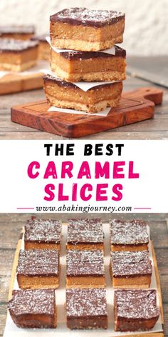 This easy caramel slice recipe (aka Millionaire's Shortbread) takes all the best elements from the c Easy Caramel Slice, Chocolate Caramel Slice, Caramel Bars, Baking Recipes, Snack Recipes, Savoury Recipes, Cake Recipes, Scones Ingredients, Tea Snacks