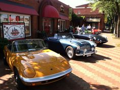 Everedy Square car show -First Saturday downtown event!