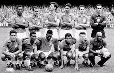 World Cup Final, Stockholm, Sweden, June Sweden 2 v Brazil Football Icon, Best Football Team, National Football Teams, World Football, School Football, Sport Football, Football Players, Soccer, Brazil World Cup