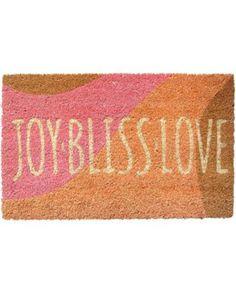 Joy Bliss Love Non-slip Coir Doormat