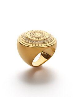 Anna Beck - Lombok Gold Beaded Ring