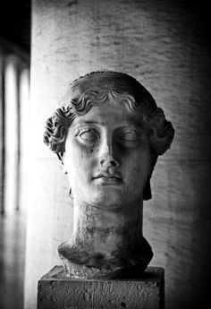 "hellas-inhabitants: ""Head of Nike, Stoa of Attalos, Ancient Agora, Athens. The head is of the 2nd century AD Copy of the Victory of Paionios of the 5th century BC Located in the arcade of Attalos in the Ancient Agora of Athens. Κεφαλή της Νίκης, Στοά..."