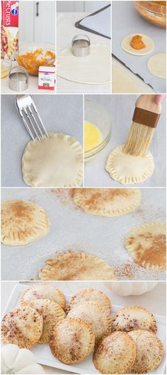 Mini Pumpkin Hand Pies #pillsbury