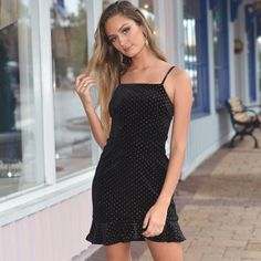 da97f63726c Glitter Dot LBD from Cousin Couture. Lbd