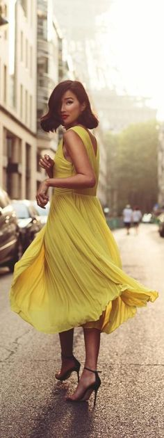 Ted Baker Dress..........yellow