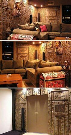 Egyptian Man Cave