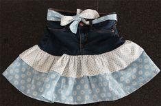 Rüschenrock nähen aus einer alten Jeans | Anfänger geeignet | ChezNU.TV