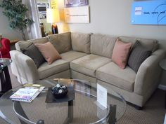 47 Relaxing Sofa Designs For Small Living Rooms. 47 Relaxing Sofa Designs For Small Living Rooms. Improve Your Living Room Space - Ten Ways. small living room layout Continue with the details at the image link. Best Sectional Couches, Small Space Sectional, Couches For Small Spaces, Sectional Sofa With Recliner, Small Sofa, Small Rooms, Small Apartments, Reclining Sectional, Small L Shaped Couch