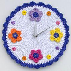 CrocheTime: relojes de ganchillo