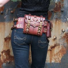 Steampunk 'fanny pack'