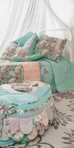 Boudoir: this is a bed and a room you'd never want to leave.