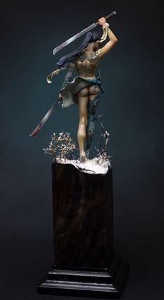 Obi Wan Kenobi Discover Beatiful death by Fesechko Putty&Paint Minis, Arte Dc Comics, Modelos 3d, Warhammer 40k Miniatures, Miniature Figurines, Fantasy Miniatures, 3d Prints, Mini Paintings, Miniture Things