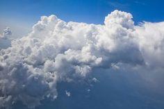 """""""Cumulus congestus"""" - photo by Richard Sweeney, via Flickr;  seen en route to Vienna, Austria"""