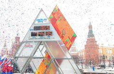 Omega Countdown Clock in Sochi Russia