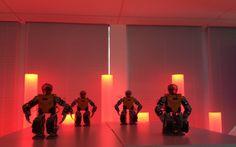 Robots dancing Haka in a beautiful setup because we love having some at seminar.