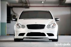 The Evolvement Continues // Calcite White Mercedes Benz C230, Car Parts, Cars And Motorcycles, Vehicles, Collection, Cars, Vehicle, Tools