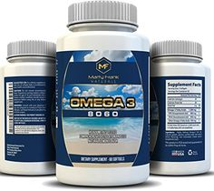 Omega 3 8060 Joint Pain Relief Lower Triglycerides Cognition Heart Health and Immune Support 800 mg EPA 600 mg DHA  60 softgels ** Find out more about the great product at the image link.