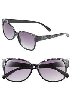 Steve Madden Retro Print Sunglasses | Nordstrom
