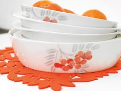 Autumn collection Pihlaja/Pentik Marimekko, Finland, Cups, Dishes, Dining, Retro, Tableware, Glass, House