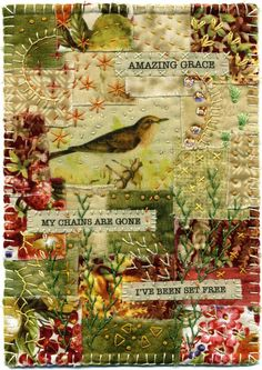 Baumcat: Amazing Grace-  journal page