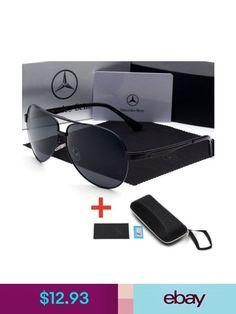 c589311442 2018 New Polarized Men Classic Designer Eyewear Pilot Sunglasses Mercedes- Benz