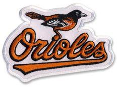 Baltimore Orioles Primary Logo 2008 MLB Baseball Team Logo Patch