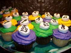 BINGO cupcakes - lucky perhaps?