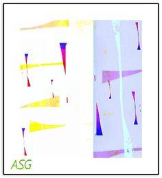 Work № 629 expressionist Sarkis Yerevanci - Изобразительное искусство - Масло, акрил