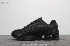 newest faeac be562 Nike Air Shox Flyknit Black White Shox R4 Men s Athletic Running Shoes