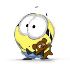 Minions, Yellow Minion, Cartoon Drawings, Piggy Bank, Madness, Funny Quotes, Paintings, Wallpaper, Funny Phrases