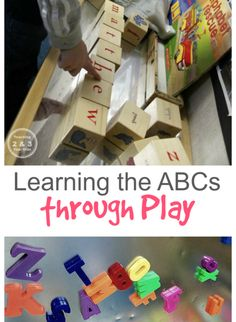 New 5 Wooden Blocks With Letters/ Numbers/ Pictures Toys & Hobbies