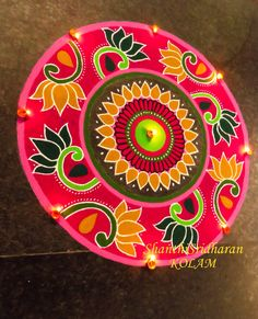 Rangoli Designs Latest, Simple Rangoli Designs Images, Colorful Rangoli Designs, Rangoli Designs Diwali, Diwali Rangoli, Beautiful Rangoli Designs, Kolam Designs, Easy Rangoli, Indian Rangoli