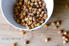 Roasted Chickpeas with Pink Salt and Coconut Sugar