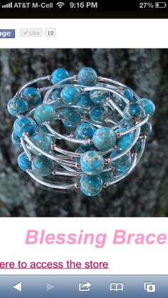 Blessing Bracelets. Acknowledge a blessing for each stone!  www.morethanwords.com $24.95