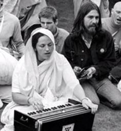 """Yamuna Devi Dasi: seen here during the beginnings  of the Hare Krishna Movement (ISKCON) She also wrote a number of books, including """"Lord Krishna's Cuisine-The Art of Indian Vegetarian Cooking"""""""