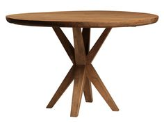 """Picture of 48"""" Round Reclaimed Wood Table"""