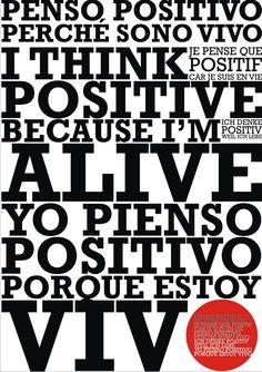 Hoy es un buen día para empezar: Carteles Positivos