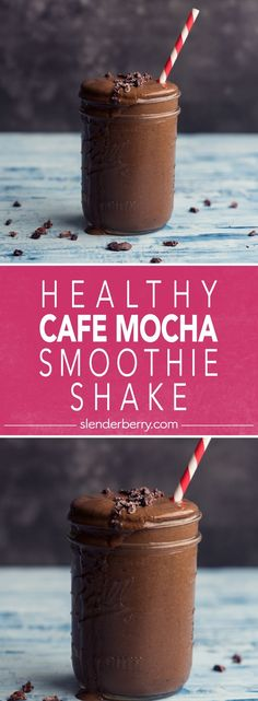 Healthy Cafe Mocha Smoothie Shake Breakfast Recipe with banana dates cacao powder spinach chia seeds avocado coffee and almond milk Low calorie smoothies coffee chocolate healthyrecipes lowcalorie breakfast recipes avocado slenderberry Chocolate Avocado Smoothie, Mocha Smoothie, Cacao Smoothie, Strawberry Smoothie, Smoothies Coffee, Fruit Smoothies, Chocolate Smoothies, Chia Seed Smoothie, Low Calorie Smoothies