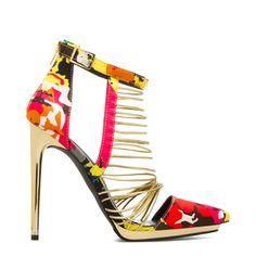 Floral fusion. #ShoeDazzle