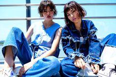 creation hair make fashion trend