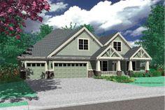 Houseplans.com Plan #48-180 Front Elevation